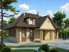 Проект элегантного дома с мансардой и цоколем