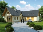 Проект красивого дома с вместительным гаражом